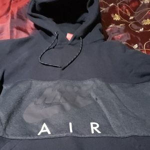 Nike Air Jordan hoodie black XXL